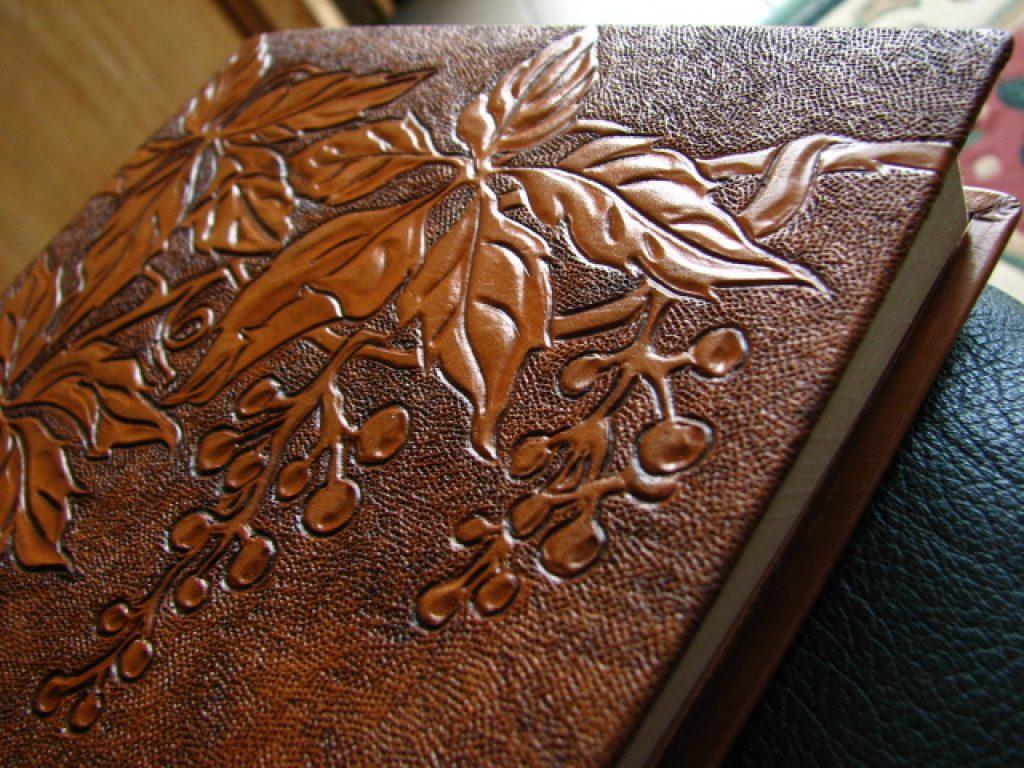 pyrogravure sur cuir